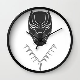 Wakanda Figure Wall Clock