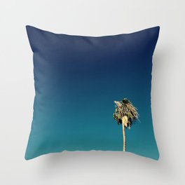 Palm Trees Los Angeles Throw Pillow