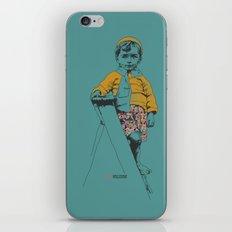 the ladder Boy iPhone & iPod Skin