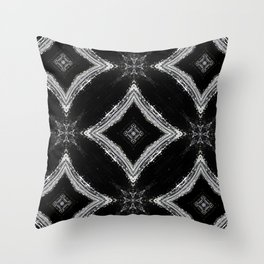 Black and White Pattern 04 Throw Pillow