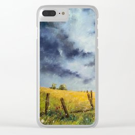 A Stormy Sky Clear iPhone Case