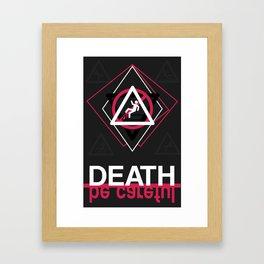 Be careful Framed Art Print