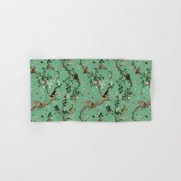 Monkey World Green Hand & Bath Towel