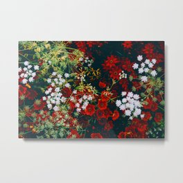 The Flower Bed (Color) Metal Print