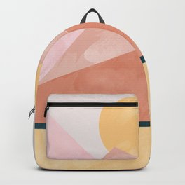 Pastel Mountain Range Backpack