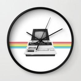 PET 2001 Watercolor Retro Vintage Design Wall Clock