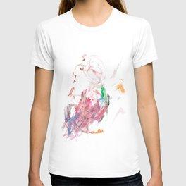 Pink Swirly 1 T-shirt