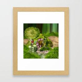 Mausi Framed Art Print