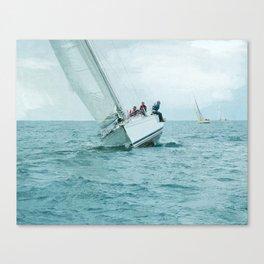High Side Canvas Print