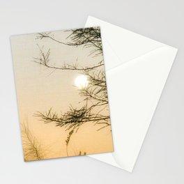 Full Moon Set Sunrise Stationery Cards