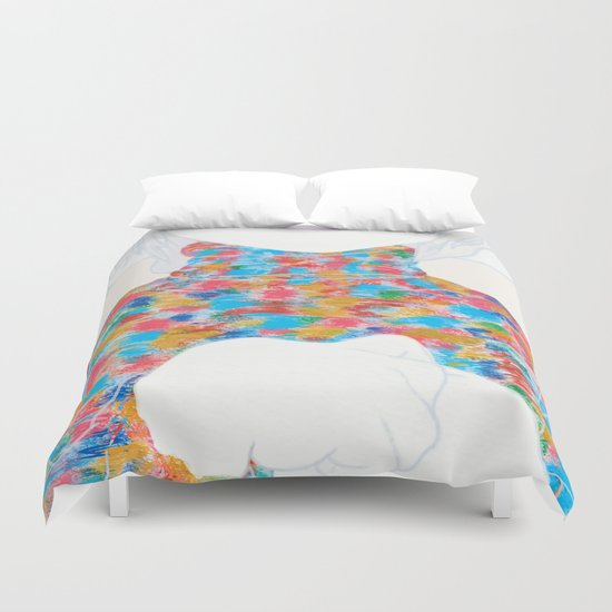 FEBRUARY KNIT Duvet Cover