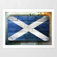 scotland Art Prints featuring Scotland by Arken25