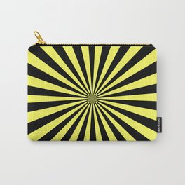 Starburst (Black & Yellow Pattern) Carry-All Pouch