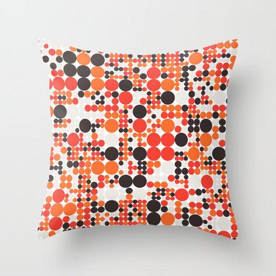 Grid 6 Throw Pillow