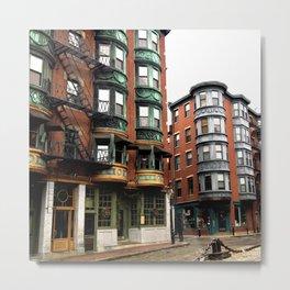 North End Boston Massachusetts, United States Metal Print