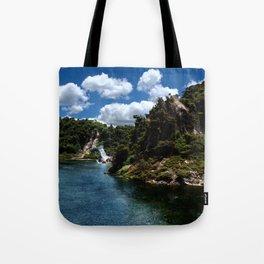 Frying Pan Lake, New Zealand Landscape Tote Bag