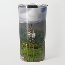Asphodelus albus in Sierra Nevada Travel Mug