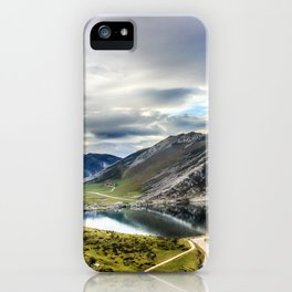 Enol, the Lakes of Covadonga iPhone Case