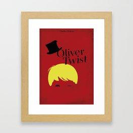 Oliver Twist Framed Art Print