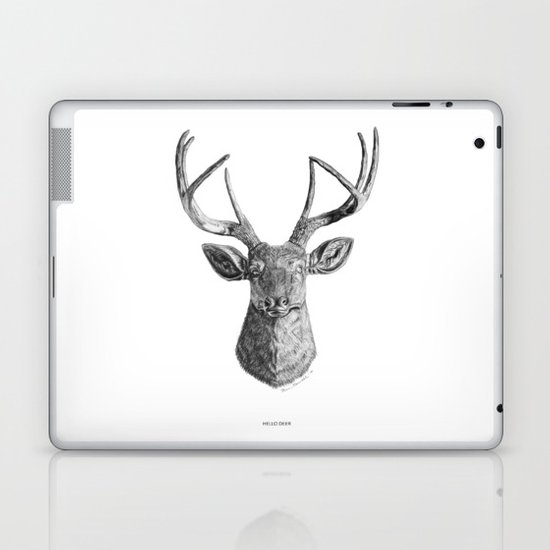 Hello Deer Laptop & iPad Skin
