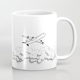 Airplane taking off Coffee Mug