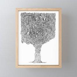 The Kids Aren't Alright Framed Mini Art Print