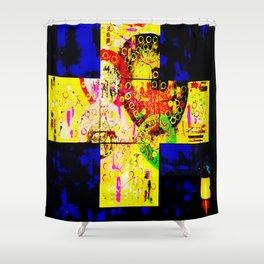 Cross Intent Shower Curtain