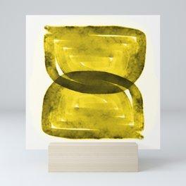 Rustic Hourglass Maze Mini Art Print
