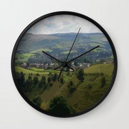 Rochdale Hilltop view Wall Clock