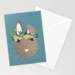 Spring Hare Stationery Cards