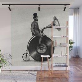 Music Man (monochrome option) Wall Mural