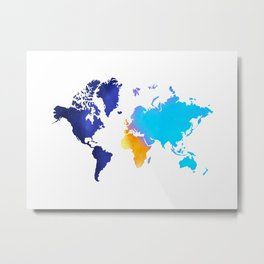 One day on earth Metal Print