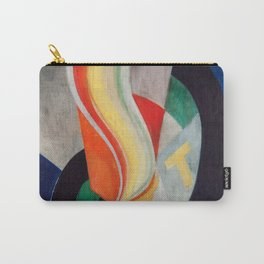 """Robert Delaunay """"Hélice"""" Carry-All Pouch"""
