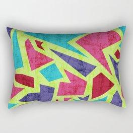 Aged terrazzo 2.1 Rectangular Pillow