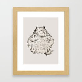 Draw Me Like One Of Your French Frogs Framed Art Print