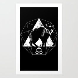 Esoteric - Sulfur Cat Art Print