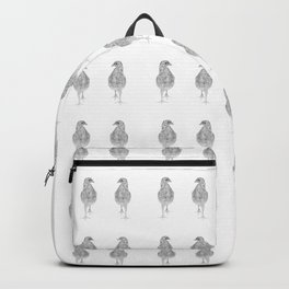 chick, drawing Backpack