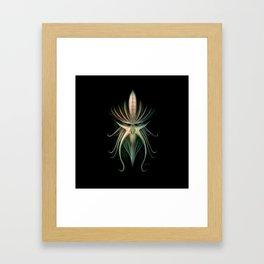 Kraken Mask Framed Art Print