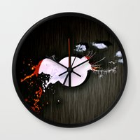 dot Wall Clocks featuring dot by oppositevision