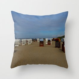 At The Seaside Throw Pillow