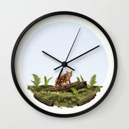 Spotted-tail Quoll (Dasyurus maculatus) Wall Clock
