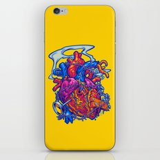 BUSTED HEART iPhone & iPod Skin