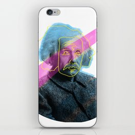 Einstein! iPhone Skin