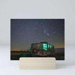 Chasing Orion Mini Art Print