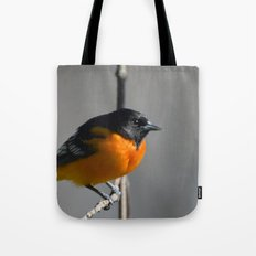 Male Baltimore Oriole Tote Bag