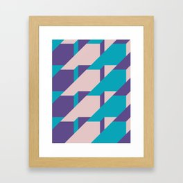 Abstract Glow #society6 #glow #pattern Framed Art Print