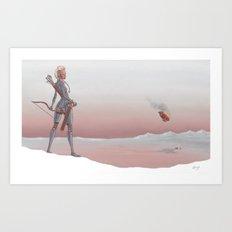 Travels Art Print
