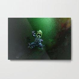 Poison Dart Frog R. Imitator Belly Metal Print