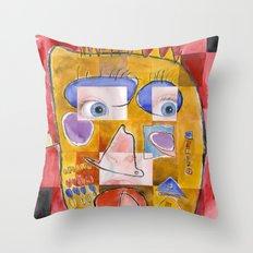 I feel playful Throw Pillow