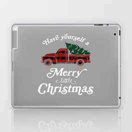 Have yourself a Merry little Christmas Vintage Truck Laptop & iPad Skin